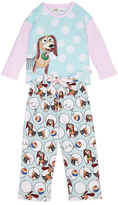 Peter Alexander peteralexander Jnr Girls Slinky Dog Pj Set