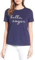 Draper James Women's Hello, Sugar Cotton Tee