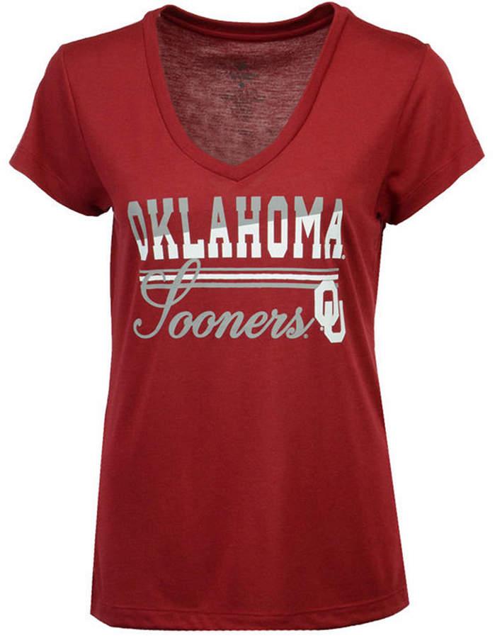 Colosseum Women Oklahoma Sooners PowerPlay T-Shirt