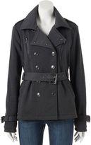 Urban Republic Juniors' Double Breasted Fleece Coat
