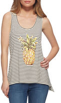 Jessica Simpson Pineapple-Print Tank Top