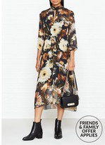 Gestuz Fergie Floral Print Maxi Dress
