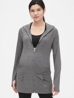 Gap Maternity GapFit Breathe Zip Hoodie