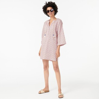 J.Crew V-neck beach tunic in Liberty Eloise floral