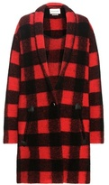 Etoile Isabel Marant Isabel Marant, Étoile Gabrie check wool-blend coat