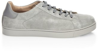 Gianvito Rossi Low-Top Suede Sneakers