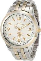 U.S. Polo Assn. Men's Two Tone Dial Bracelet Watch USC80032