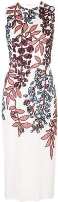 Carolina Herrera floral sequin dress