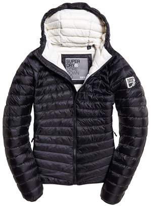 Superdry Hype Core Down Padded Jacket with Hood and Pockets