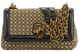 Bottega Veneta Olimpia Woven Knot Shoulder Bag