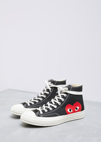 Comme des Garcons black converse chuck taylor high-top