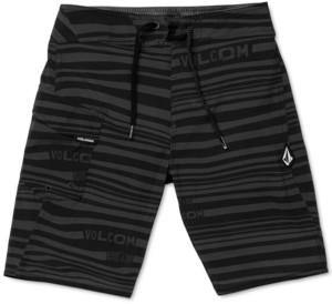 Volcom Big Boys Logo-Stripe Mod-Tech Boardshorts