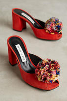 Anthropologie Eugenia Kim Feather-Pom Heels