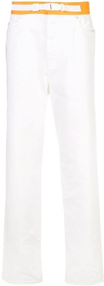 Maison Margiela loose fit belted jeans