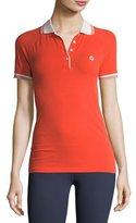 Tory Sport Seamless Short-Sleeve Polo Shirt