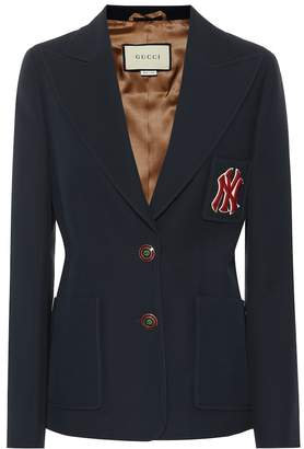 Gucci NY Yankees wool and silk blazer