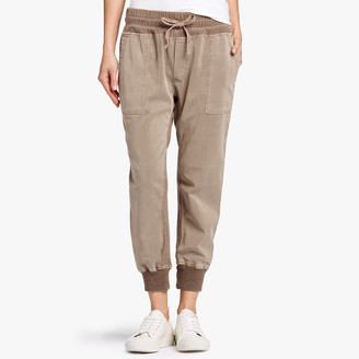James Perse Mixed Media Jersey Pant