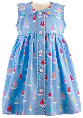 Rachel Riley Boat Print Dress (6-24 Months)