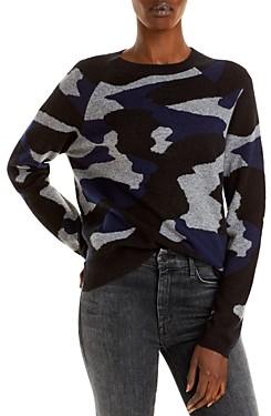 Chelsea & Theodore Camo Cashmere Sweater (66% off) Comparable value $298