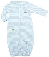 Kissy Kissy Mini Golf Convertible Pima Sleep Gown, Light Blue, Size Newborn-Small