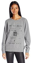 Obey Women's Be Anywhere Vintage Pullover Sweater