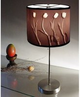 Modern Artisans Contemporary Photographic Art Lamp - Tulips