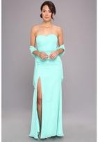 Faviana Strapless Sweetheart Chiffon Gown 7360