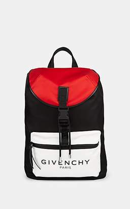 Givenchy Men's Colorblocked Backpack - Md. Red