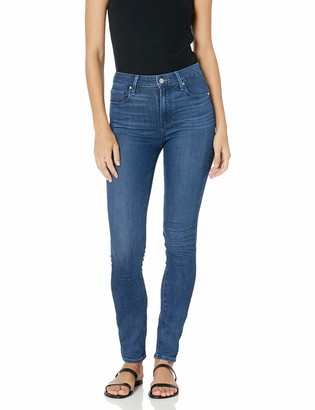 Paige Women's Hoxton Transcend Stretch High Rise Ultra Skinny Fit Jean
