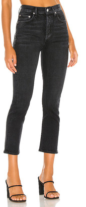 AGOLDE Riley High Rise Straight Crop. - size 25 (also