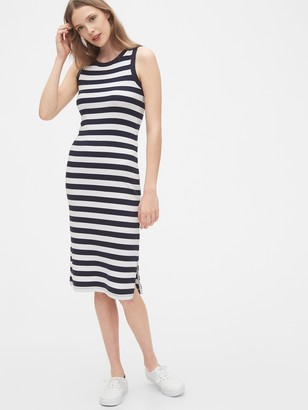 Gap Modern Sleeveless Midi Dress