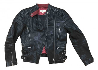 Rika Black Leather Leather jackets