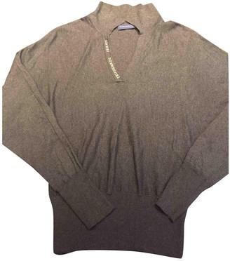 Trussardi Jeans Grey Silk Knitwear for Women