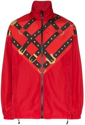 Versace Harness Print Track Jacket
