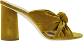 Loeffler Randall Coco Velvet Marigold Sandals