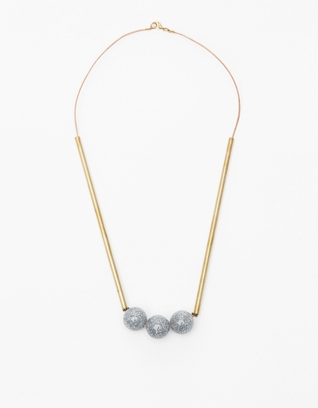 Clearly Metal Necklace