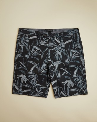 Ted Baker Printed Cotton Shorts