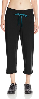 Danskin Women's Capri with Drawcord