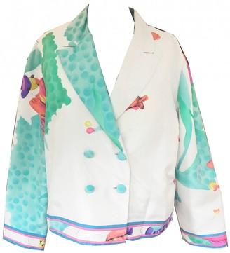 Leonard Multicolour Silk Jackets