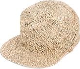 Overhead - straw cap - men - Straw - One Size