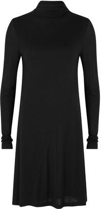 ATM Anthony Thomas Melillo Black Jersey Dress
