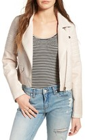 Blank NYC Women's Blanknyc Faux Leather Moto Jacket