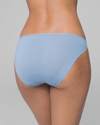 Soma Intimates Microfiber Scallop Bikini