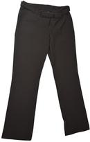 Prada Brown Polyester Trousers