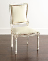 Horchow Massoud Ingram Leather Dining Chair, C4