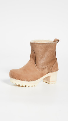 NO.6 STORE Pull On Shearling Boots
