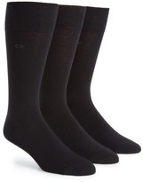 Calvin Klein Men's Cotton Blend Socks
