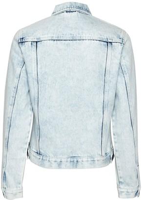 Dorothy Perkins Acid Wash Denim Jacket - Blue
