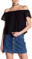 Lush Crochet Lace Blouse