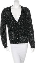 Blumarine Sequin Knit Cardigan
